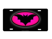 Batgirl custom car tag