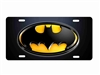 Batman custom car tag