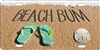 Beach Bum personalized novelty front license plate decorative vanity car tag
