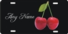 Cherries personalized novelty front license plate decorative vanity car tag