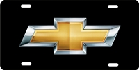 Chevrolet bow tie personalized novelty front license plate decorative vanity car tag