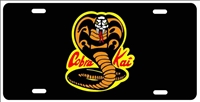 Cobra Kai symbol from The Karate Kid personalized novelty front license plate Decorative Vanity car tag