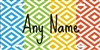 colorful Diamond Pattern design personalized novelty front license plate Decorative Vanity car tag