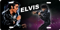 Elvis in leather suit 1968 custom car tag Custom License Plates, Personalized License Plates, Decorative License Plates, Front License Plates, Car Tags, airbrush