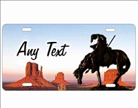 End of the trail Monument valley personalized novelty front license plate Decorative Vanity car tag