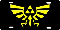 hyrule custom car tag