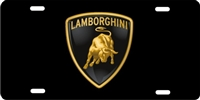 Lamborghini Custom License Plates, Personalized License Plates, Decorative License Plates, Front License Plates, Car Tags, airbrush