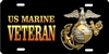 Marine veteran custom car tag Custom License Plates, Personalized License Plates, Decorative License Plates, Front License Plates, Car Tags, airbrush