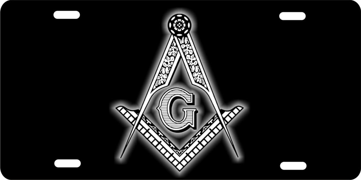 Personalized Novelty License Plate Masonic Freemason