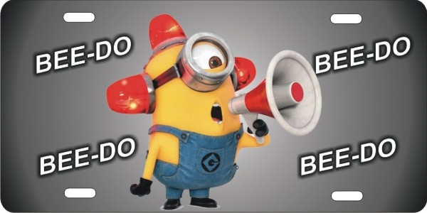 minion BEE DO personalized novelty license plate : decorative licence plates - pezcame.com