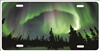 Northern Lights Aurora Borealis personalized novelty front license plate Decorative Vanity car tag