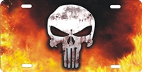 The Punisher personalized novelty license plate, custom made Punisher front plates