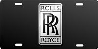 rolls royce Custom License Plates, Personalized License Plates, Decorative License Plates, Front License Plates, Car Tags, airbrush