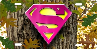 SUPER GIRL on mossy green oak camo custom car tag Custom License Plates, Personalized License Plates, Decorative License Plates, Front License Plates, Car Tags, airbrush