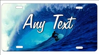 surfer Custom License Plates, Personalized License Plates, Decorative License Plates, Front License Plates, Car Tags, airbrush