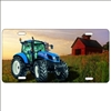 tractor New Holland Custom License Plates, Personalized License Plates, Decorative License Plates, Front License Plates, Car Tags, airbrush