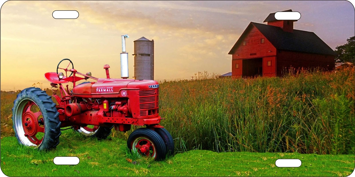 Tractor Car Tags : Farmall tractor custom license plates personalized
