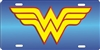 Wonder Woman personalized license plate Custom License Plates, Personalized License Plates, Decorative License Plates, Front License Plates, Car Tags, airbrush