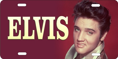 Elvis custom car tag Custom License Plates, Personalized License Plates, Decorative License Plates, Front License Plates, Car Tags, airbrush