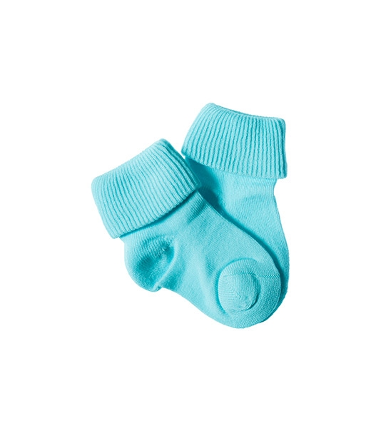 Toddler Sky Blue Socks