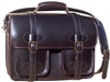 Scholar with pockets Leather Briefcase