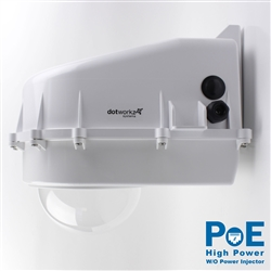 Dotworkz D2 Heater Blower Camera Enclosure IP68 with High Power PoE without Power Injector (D2-HB-POE-HP)