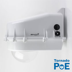 Dotworkz D2 Tornado Dual Blower Camera Enclosure IP68 with PoE (D2-TR-POE)