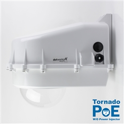 Dotworkz D2 Tornado Dual Blower Camera Enclosure IP68 with PoE and no Power Injector (D2-TR-POE-WO)