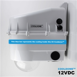 Dotworkz D3 Cooldome - cooled security housing CCTV, PTZ camera protection