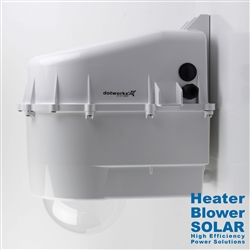 Dotworkz D3 High Efficiency Power Heater Blower Camera Enclosure IP68 for Solar Applications (D3-HB-SOLAR)