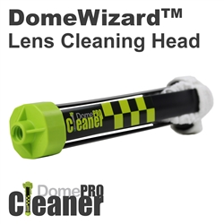 Dotworkz DomeWizard Dome Cleaning Head, outdoor dome cleaner for cctv, schools, dust, salt, pollution, and snow