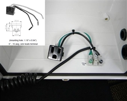 Single Outlet Pigtail for 120 VAC Power Accessory (KT-ACSO)