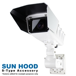 Sun Hood Kit for S-Type Static Camera Enclosures (KT-HOOD)