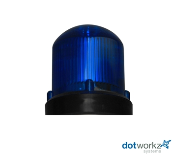 Dotworkz Blue Strobe Light