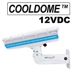 S-Type IP66 COOLDOME™ 12V Active Cooling Camera Housing and Stainless Steel Arm (ST-CD-SS)