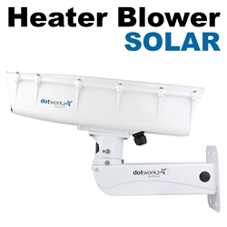 S-Type IP66 High Efficiency Power Heater Blower and Stainless Steel Arm (ST-HB-SOLAR-SS)