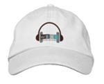 WBAI Baseball Hat - White
