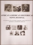 African American Historical News Journal - large soft cover book