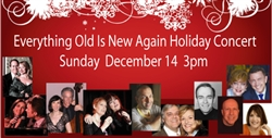 Everything Old Is New Again Holiday Concert to benefit WBAI - Dec. 14