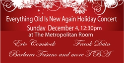 Everything Old Is New Again Holiday Concert to benefit WBAI - Ticket