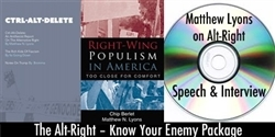 Alt-Right – 1 book & CD Package- EBOOK, MUST LEAVE VALID EMAIL