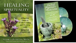 Bach Flowers Book & Herbal Pharmacy 2 DVD's
