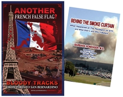 Behind the Smoke Curtain + Another French False Flag - Book + DVD Pack