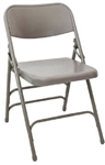 Wholesale Prices Grey Metal Folding Chair