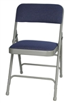 Discount Fabric Metal Folding Chair