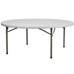 "60"" Round Plastic Table Wholesale Prices for Round Plastic Folding Tables"
