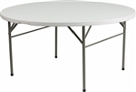 Discount  Round Folding Table, Commercial Hotel Quality Folding Table