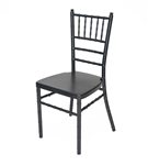 Black  Aluminum Chiavari Chair