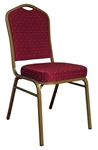 Wholesale Prices Banquet Chair , BURGUNDY  BANQUET CHAIR - Fabric Cushion Banquet Chairs,