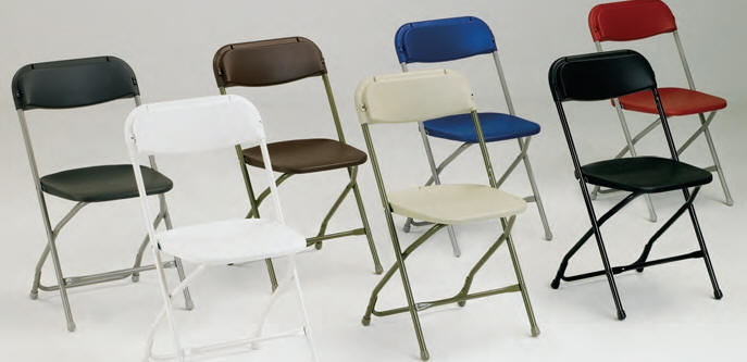 factory White Plastic Folding Chair Cheap Plastic folding chairs White Pol